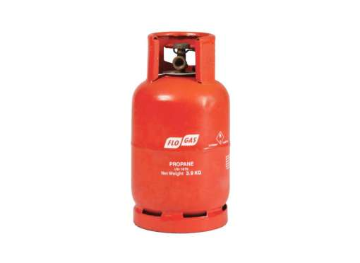3.9kg bottle of propane gas - buy online from GSS Gas at www.gssgas.co.uk