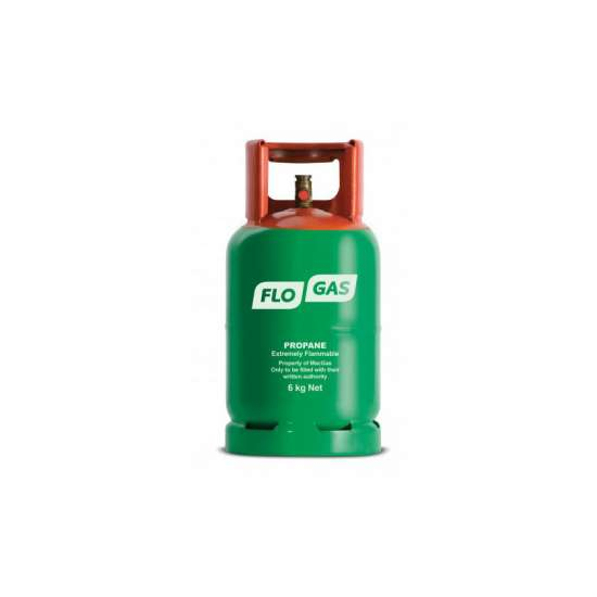 6kg bottle of propane gas - buy online from GSS Gas at www.gssgas.co.uk