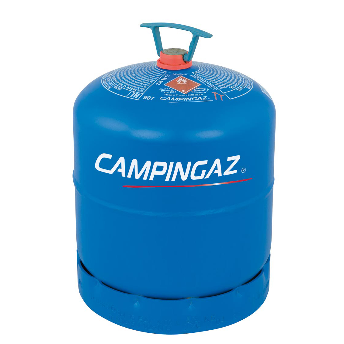 2.75kg R907 bottle of Butane gas from GSS Gas, Essex Campingaz gas supplier