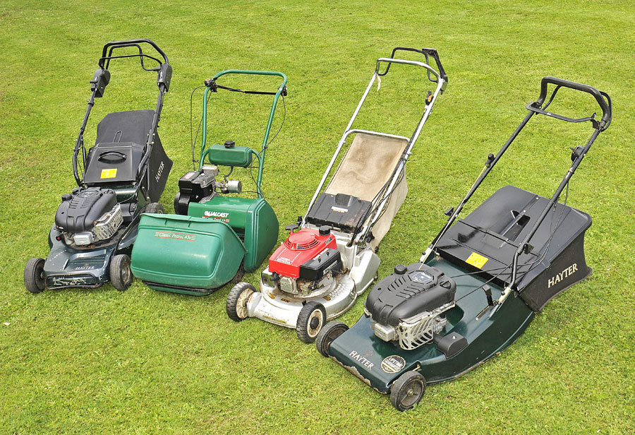 Buy New and Used Lawn mowers and garden machinery from GSS Essex - free delivery across Essex & Suffolk!