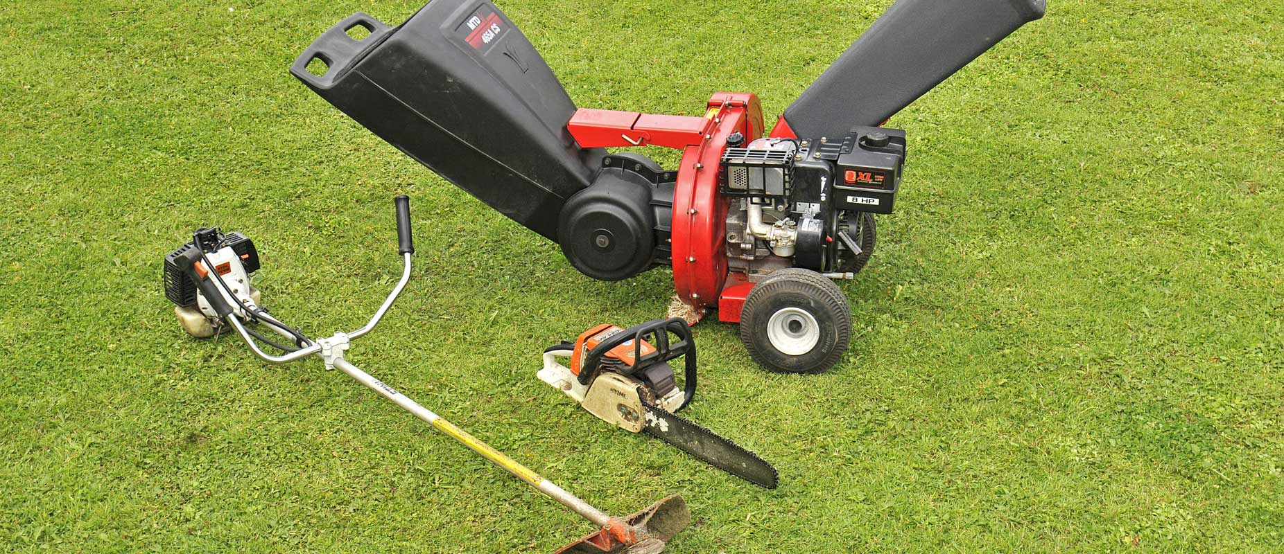 New and Second Hand Lawn Mower and garden machinery sales and servicing across Essex